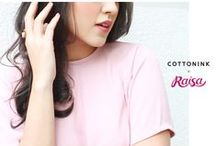 #cottoninkxraisa / Shop 24/7 at cottonink.co.id!