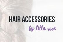 Lilla Rose / The FLEXI clip is a one-piece (nothing to lose), flexible (gentle yet firm hold), and durable hair clip that is available in SEVEN sizes and in multitude of designs!  Shop at lillarose.biz/mbella77