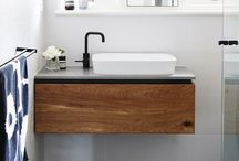bathroom / i love bathrooms!  this is a taste of what inspired me for my renovation much more