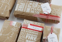 packaging / packaging for xmas, birthday and any other occassion