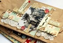 mini albums / scrapbook mini albumok - a legkedvesebbek