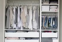 d r e s s i n g  +  r o o m / Closets and dressing rooms