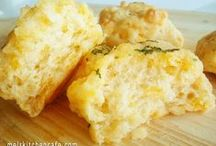 [savory biscuits and rolls] recipes / by Roxii Hart