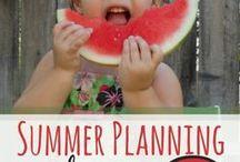 summer fun / Fun ideas to keep kids busy in summer time.