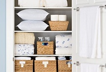 At Home: Organization / organization, organizing, home decor,