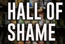 """Health Hall of Shame / We love to celebrate what's great out there and mostly try to abide by """"if you don't have anything nice to say then don't say anything at all,"""" but there comes time(s) when something or someone deserves a call out - for being part of the problem, not the solution to better health...so please share your #HealthHallOfShame nominees on Pinterest with @AshleyKoffApp and @ToriSchmittRDN and together maybe we can help them see things differently."""