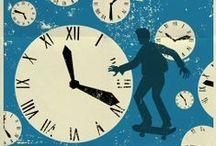 Back to the Future / Referências para criação do calendário do ano da chegada do Doc. Brown e do Marty McFly. / by Filipe Gomes