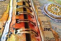 Tutoriels vidéos / Mixed media - tag - art journal - carte - Pocket letters - Astuces