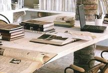 THE WORKSPACE / inspired work spaces / by Natalie Brooke