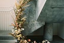 WEDDING FLORALS / Flowers are one of our favorite elements of a wedding, and here you'll find our absolute favorite wedding flowers as seen on Once Wed and around the web. Find DIY inspiration and interesting uses of florals for your wedding day, with everything from flower crowns, garlands, aisle markers, chair markers, floral installations, wedding bouquets and centerpieces, to DIY flowers for your home.