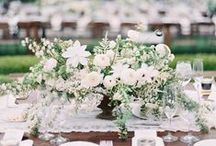 Wedding Centerpieces / DIY Wedding Centerpiece Ideas from Once Wed. This is our favorite collection of centerpieces to serve as inspiration for our DIY brides, as well as a place for potential brides to locate the right floral vendor for their wedding day.  / by Once Wed