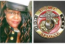 Military Spouse of Retired US Marine / by Latangya Clinton