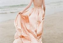 BLUSH WEDDINGS / The blush color palette is feminine and romantic...and perfect for a wedding! Here you'll find bush wedding ideas, pink bridesmaid dress ideas, peach wedding inspiration, light pink wedding ideas, girly wedding ideas, ethereal and pink wedding décor, and pale pink wedding ideas.
