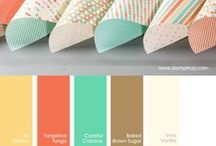 Design // Color / Color palettes and color schemes.