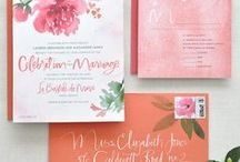Design // Weddings / Wedding save the dates, invitations, programs, thank yous.