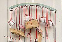 Christmas // Advent Calendar / Chic and tasteful Christmas ideas and decor. http://www.kissmycasa.com