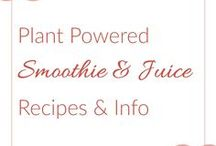 Juice & Smoothie Recipes / Juicing Recipes, Juicing Notes, Benefits of Juicing, Healthy Juices, Food for Optimal Performance