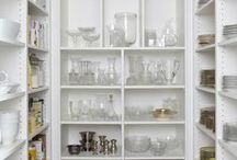 Kiss My Casa // Kitchen Pantry / Ideas and inspiration for the kitchen pantry of Casa de Crap. http://www.kissmycasa.com