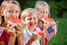 Fourth of July / Fourth of July Recipes and Resources for Special Needs Families. Pins related to healthy foods for fourth of july and sensory activities for independence day.