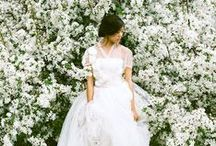 Modest Fashion // Wedding Gowns / Collection of modest wedding gown and dress options -- because they really DO exist.