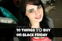 Black Friday / Great ideas and information for Black Friday. http://www.kissmycasa.com