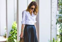 Modest Fashion // Work Outfits / Modest outfits you can wear at work. (shocking, right?)