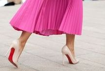 Style Staple // Pleated Skirts / Visual inspiration for this blog post: