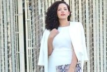 Modest Fashion // Plus Size / Modest outfits for women with naturally beautiful curves.