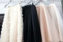 Style Staple // Tulle Skirts / Because I'm kind of obsessed with tulle skirts, so why not?