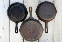 "Lodge Cast Iron: America's Original Cookware / Lodge Cast Iron is great for all kinds of cooking. Enjoy this durable cookware on the stove, in the oven, on the grill, or in your camp fire! You can't go wrong with ""America's Original Cookware"" by Lodge. Check out all these fun Lodge products here: http://www.katom.com/vendor/lodge.html"