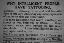 creative tattoo ideas / by Jenna-Ley Jamison