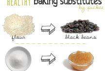 {baking • substitutes} / public / by Jennifer Thompson Frank