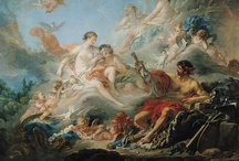 Rococo Paintings / The often frivolous, always colorful French paintings of pre-revolutionary France.