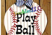{baseball} / by Jennifer Thompson Frank