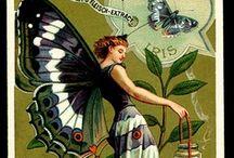Victorian Die Cuts, Trade Cards & Ephemera
