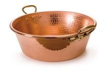Isn't it Mauviel-ous / The Mauviel pan is always perfectly crafted by hand to ensure that your Mauviel copper piece lasts through all of your cooking ventures in life. Elegant enough for the home kitchen, but durable enough for commercial use, Mauviel copper cookware makes a beautiful and efficient addition to your kitchen. http://www.katom.com/vendor/mauviel.html