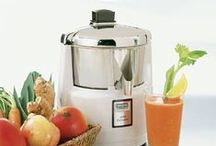 Juiceology: The Study of Juicing / Juicing is all the rage these days and here at KaTom we are quite the fans. From manual to automatic juicers and delicious recipes, we have you covered! http://www.katom.com/cat/grid/juicers.1.html / by KaTom Restaurant Supply