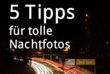 Nachtfotografie / Nachtfotografie: Tipps und Inspirationen für Langzeitbelichtung, Milchstraße fotografieren, Nordlichter, Polarlichter und Lichtmalerei