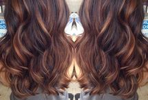Hair styles and colors / by Christina Rosales