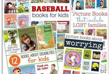 Children's Literature / Don't let your children or students get stuck in a reading rut!  From board books to chapter books; books about Mars to books about Monet; tales from Tennessee to Thailand; find the perfect book for all your kiddos. Seashellsandswings.com / by Kat @ Seashells and Swings
