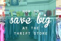 Thrift Fashion / Op Shop Glam Fashion