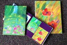 Plum Print Art / Here are some pieces of artwork we LOVE that we have come across creating Plum Print books.  #PlumPrint