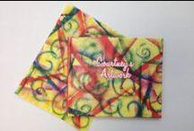 Plum Print Notecards / Transform your kids' art into custom Notecard on plumprint.com #PlumPrint