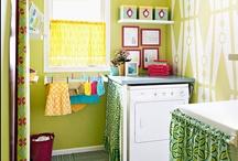 Laundry Rooms / Storage, Design and Ideas for Laundry Room Organization / by Morgan Smith {California To Carolina}