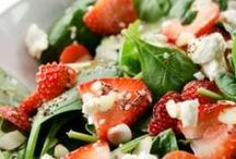 Vegetarian - Salads / Salads for lunch or dinner. Meat-free, no (or minimal) processed foods.