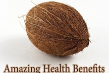 Health | Coconut Oil / The health benefits of coconut oil include hair care, skin care, stress relief, maintaining cholesterol levels, weight loss, increased immunity, proper digestion and metabolism, relief from kidney problems, heart diseases, high blood pressure, diabetes, HIV and cancer, dental care, and bone strength. These benefits of coconut oil can be attributed to the presence of lauric acid, capric acid and caprylic acid, and its properties such as antimicrobial, antioxidant, antifungal, antibacterial.