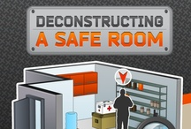 Home | Safe Room / A safe room or panic room is a fortified room which is installed in a private residence or business to provide a safe shelter, or hiding place, for the inhabitants in the event of a break-in, home invasion, tornado, or other threat. Safe rooms usually contain communications equipment, so that law enforcement authorities can be contacted. (Wikipedia)