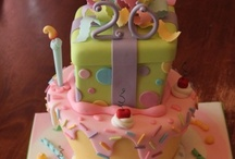 birthday cakes/ party ideas for grans / by Laurie Ebert