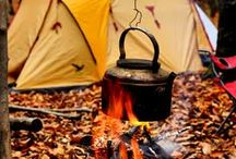 Camping Image Reveries / Camping scenes and images that make you smile and soothe the soul. Gaze and repose away.