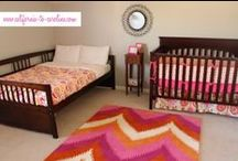 Girl's Rooms / Inspiring things for a girl's room. / by Morgan Smith {California To Carolina}